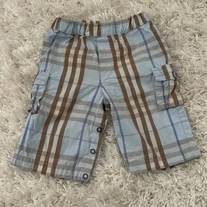 Burberry Blue Baby Shorts